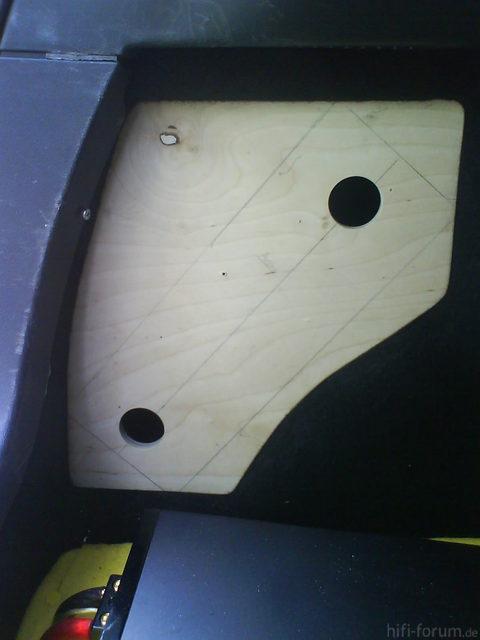 Reserveradmuldenausbau Ibiza 6L - Einbau Protovision 8