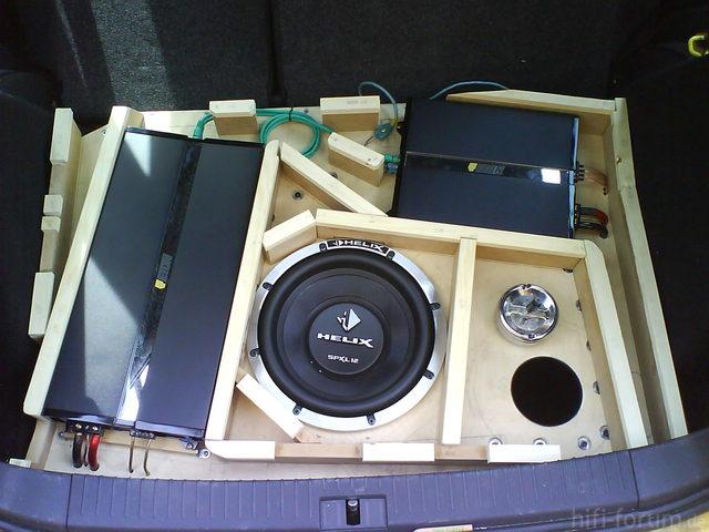 Reserveradmuldenausbau Ibiza 6L - Herstellung Abdeckplatte 11