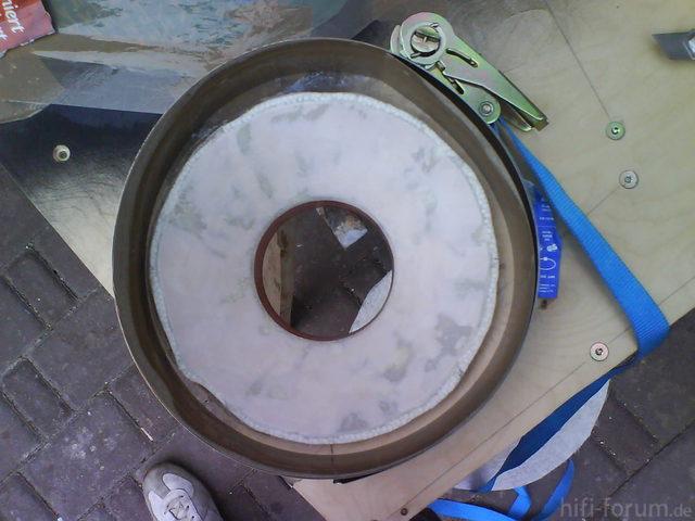 Reserveradmuldenausbau Ibiza 6L - Herstellung Abdeckplatte 128