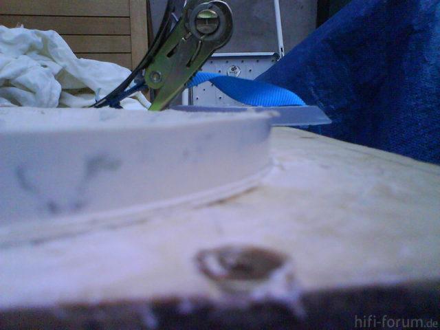 Reserveradmuldenausbau Ibiza 6L - Herstellung Abdeckplatte 136