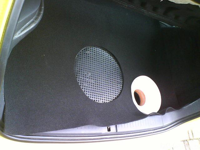 Reserveradmuldenausbau Ibiza 6L - Herstellung Abdeckplatte 145