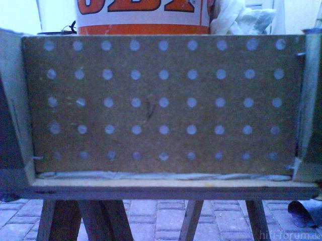 Reserveradmuldenausbau Ibiza 6L - Herstellung Abdeckplatte 156