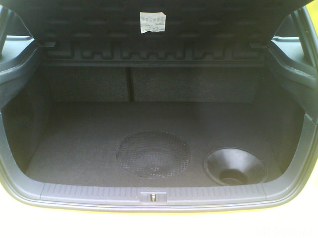 Reserveradmuldenausbau Ibiza 6L - Herstellung Abdeckplatte 168