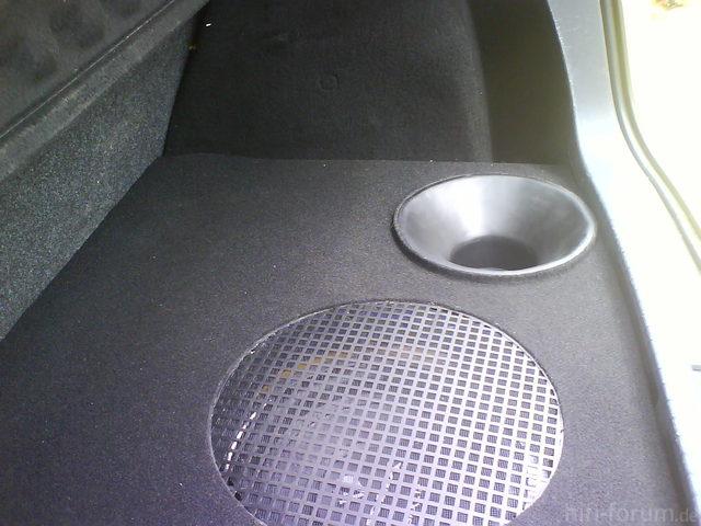 Reserveradmuldenausbau Ibiza 6L - Herstellung Abdeckplatte 169