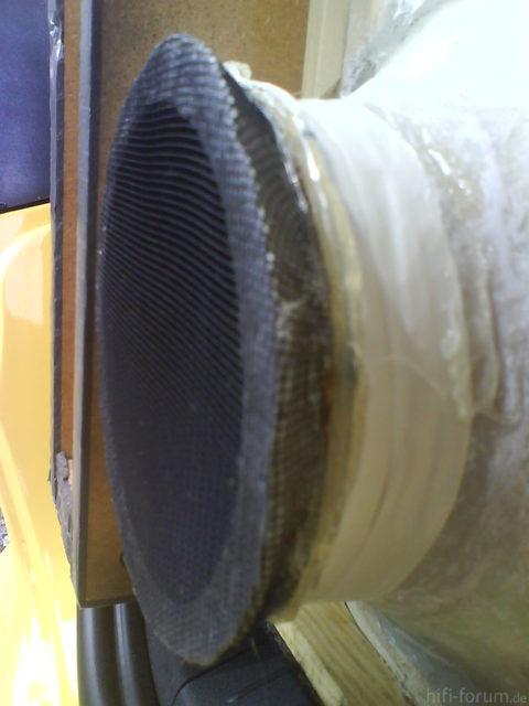 Reserveradmuldenausbau Ibiza 6L - Herstellung Abdeckplatte 176