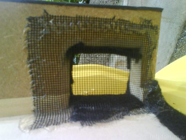 Reserveradmuldenausbau Ibiza 6L - Herstellung Abdeckplatte 177