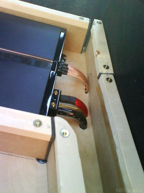 Reserveradmuldenausbau Ibiza 6L - Herstellung Abdeckplatte 19