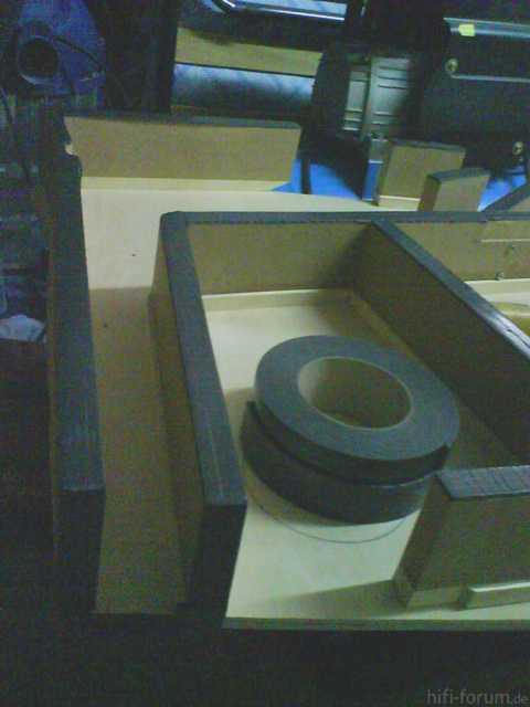 Reserveradmuldenausbau Ibiza 6L - Herstellung Abdeckplatte 25