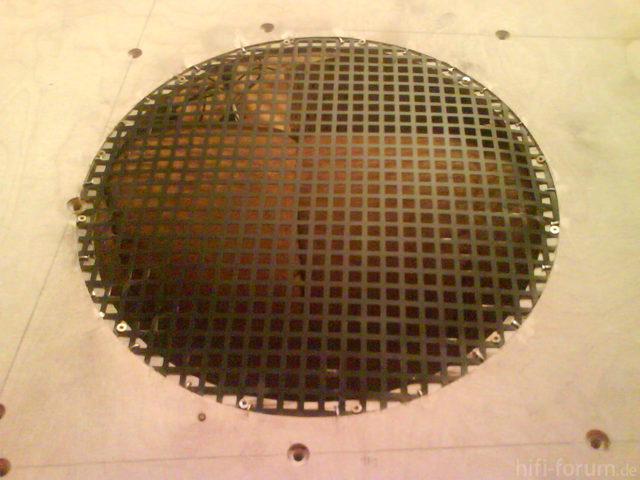 Reserveradmuldenausbau Ibiza 6L - Herstellung Abdeckplatte 35