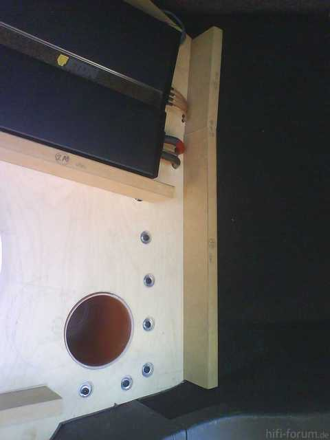 Reserveradmuldenausbau Ibiza 6L - Herstellung Abdeckplatte 3