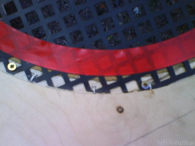 Reserveradmuldenausbau Ibiza 6L - Herstellung Abdeckplatte 43