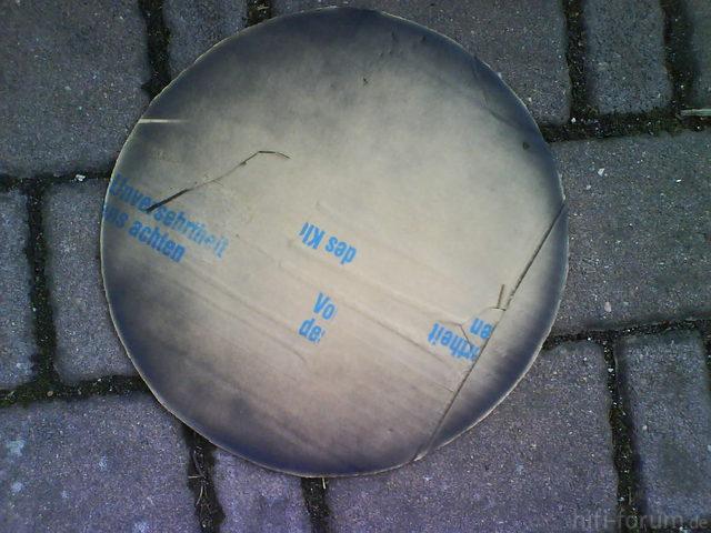 Reserveradmuldenausbau Ibiza 6L - Herstellung Abdeckplatte 63