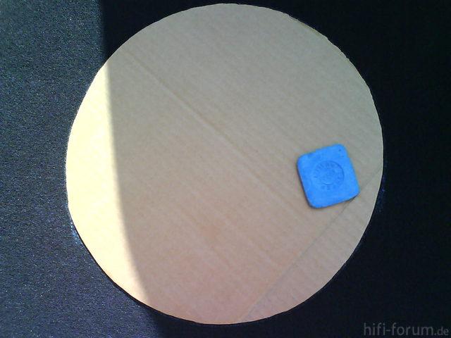 Reserveradmuldenausbau Ibiza 6L - Herstellung Abdeckplatte 65