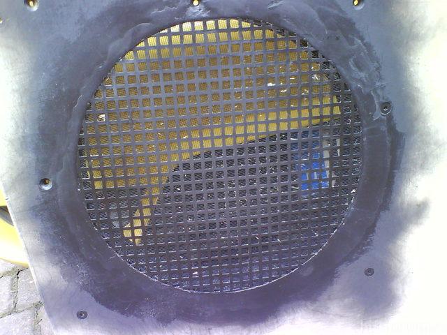 Reserveradmuldenausbau Ibiza 6L - Herstellung Abdeckplatte 69