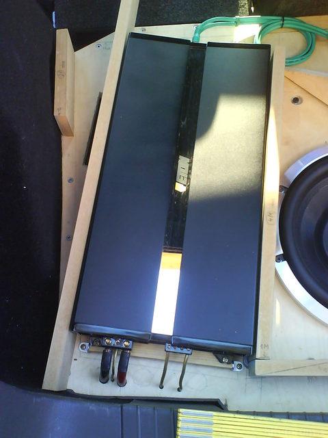 Reserveradmuldenausbau Ibiza 6L - Herstellung Abdeckplatte 7