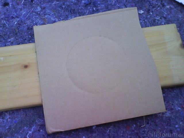 Reserveradmuldenausbau Ibiza 6L - Herstellung Abdeckplatte 82