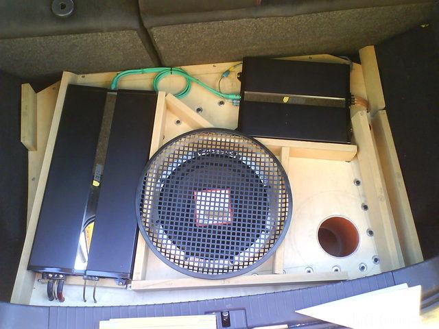 Reserveradmuldenausbau Ibiza 6L - Herstellung Abdeckplatte 8