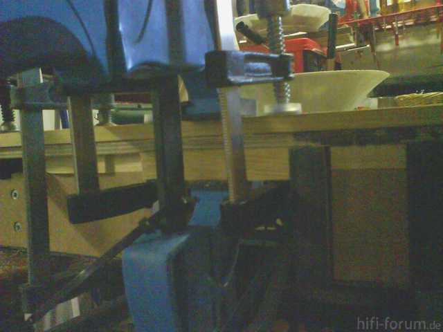 Reserveradmuldenausbau Ibiza 6L - Herstellung Abdeckplatte 99