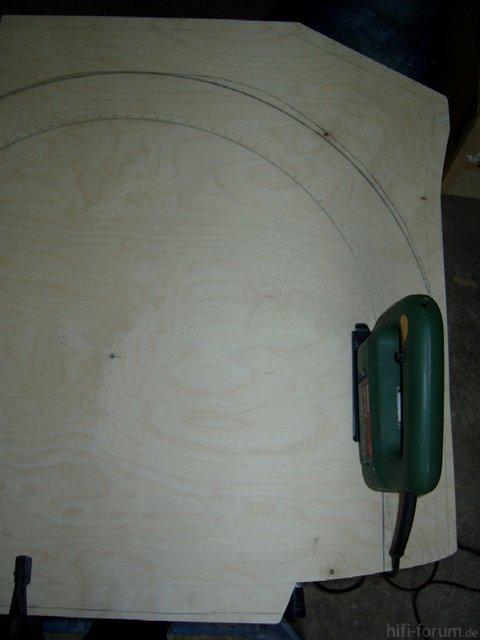 Reserveradmuldenausbau Ibiza 6L - Herstellung Basisplatte 15