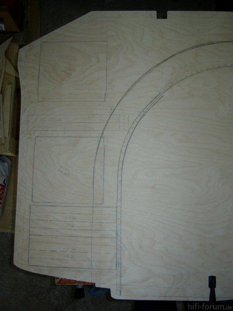 Reserveradmuldenausbau Ibiza 6L - Herstellung Basisplatte 16