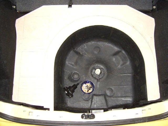 Reserveradmuldenausbau Ibiza 6L - Herstellung Basisplatte 17