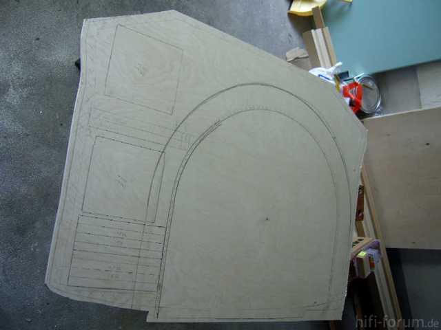 Reserveradmuldenausbau Ibiza 6L - Herstellung Basisplatte 9