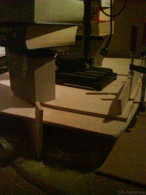 Reserveradmuldenausbau Ibiza 6L - Herstellung Mittelplatte 11