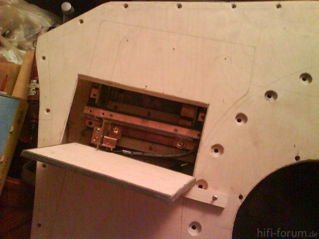 Reserveradmuldenausbau Ibiza 6L - Herstellung Mittelplatte 26