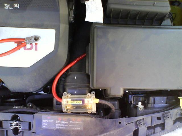 Reserveradmuldenausbau Ibiza 6L - Kabelage 12