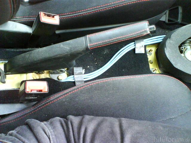 Reserveradmuldenausbau Ibiza 6L - Kabelage 34