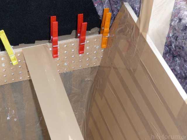 Reserveradmuldenausbau Ibiza 6L - Laminierung - Abkleben 11