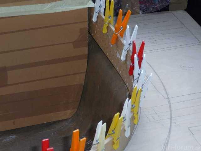 Reserveradmuldenausbau Ibiza 6L - Laminierung - Abkleben 7
