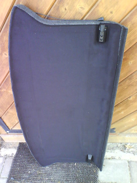 Reserveradmuldenausbau Ibiza 6L - Modding Hutablage 16