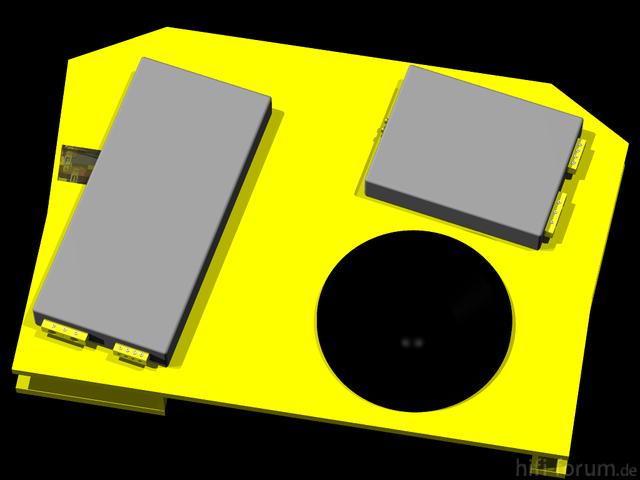 Reserveradmuldenausbau Ibiza 6L - Planung 2