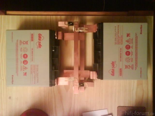 Reserveradmuldenausbau Ibiza 6L - Stromschienen 1