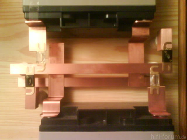 Reserveradmuldenausbau Ibiza 6L - Stromschienen 2