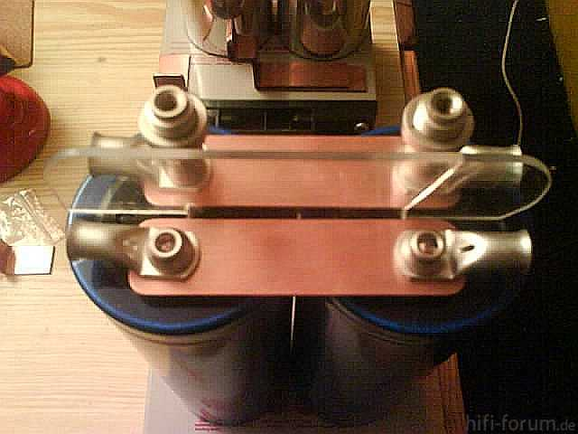Reserveradmuldenausbau Ibiza 6L - Stromschienen 9