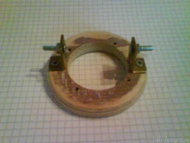 Verstellbare Hochtöneraufnahme - Mechanik Anfitten 1