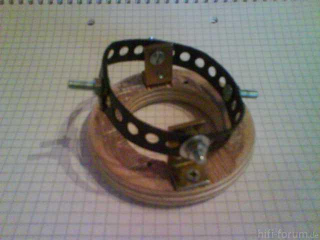 Verstellbare Hochtöneraufnahme - Mechanik Anfitten 2