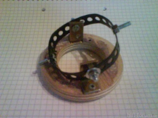 Verstellbare Hochtöneraufnahme - Mechanik Anfitten 3