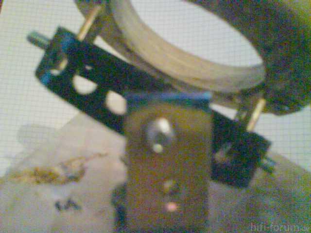 Verstellbare Hochtöneraufnahme - Mechanik Anfitten 6