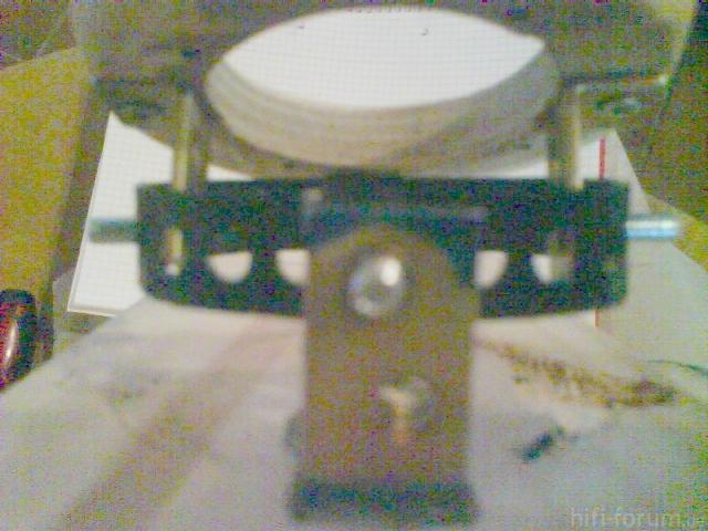 Verstellbare Hochtöneraufnahme - Mechanik Anfitten 7