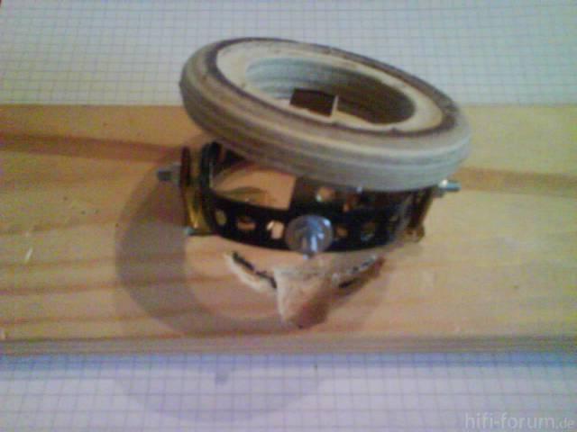 Verstellbare Hochtöneraufnahme - Mechanik Anfitten 8