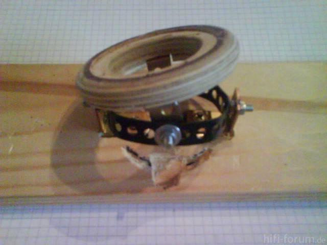Verstellbare Hochtöneraufnahme - Mechanik Anfitten 9