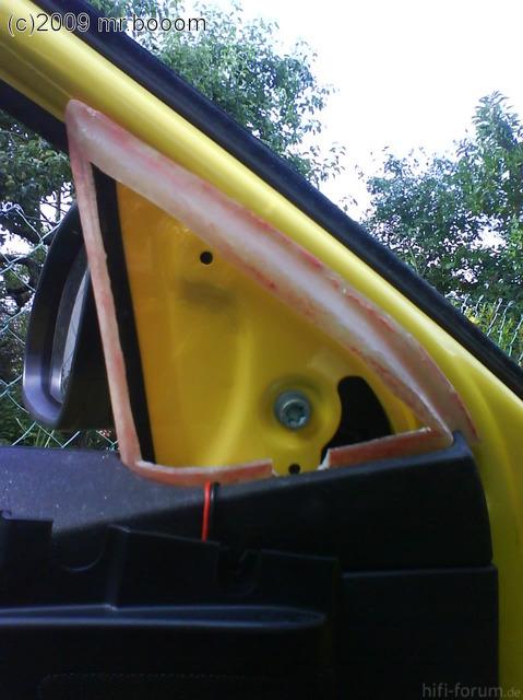 Verstellbare Höchtöneraufnahme - Modellierung Spiegeldreiecke 16