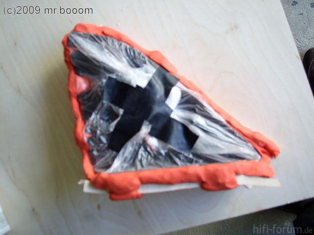 Verstellbare Höchtöneraufnahme - Modellierung Spiegeldreiecke 8