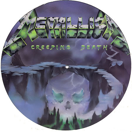Metallica Picture Vinyl 8