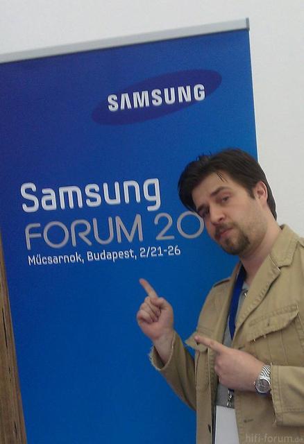 Photobeweis Samsung Forum 2011