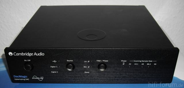 Cambridge Audio DAC Magic Frontseite
