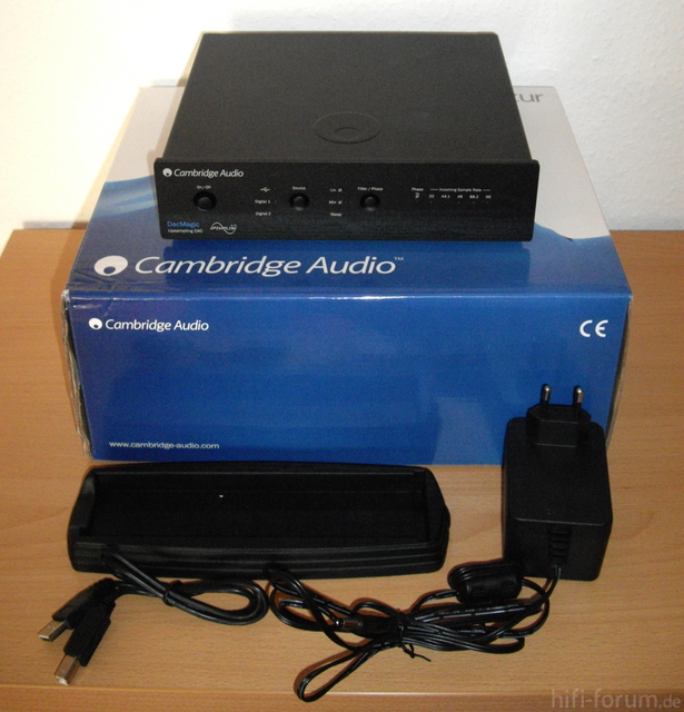 Cambridge Audio DAC Magic Lieferumfang
